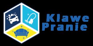 Klawe Pranie firma czyszcząca logotyp